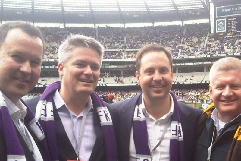 Tasmanian Senator David Bushby, Finance Minister Mathias Cormann and Trade Minister Steve Ciobo charged taxpayers more than $2,500 for a trip to the AFL Grand Final in 2013.