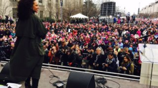 """""""No matter where you were today...We sent a powerful message!"""" singer Alicia Keys said on Twitter."""