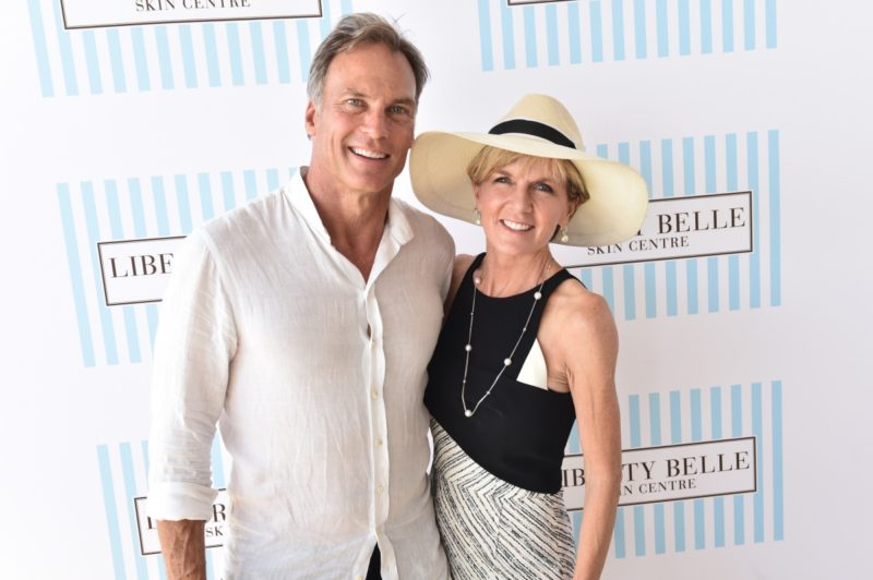 David Panton and Julie Bishop