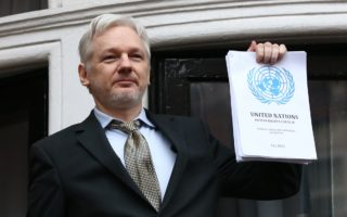 Julian Assange interview