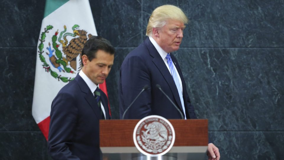 Donald Trump Enrique Pena Nieto