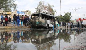 Baghdad suicide bomb bus