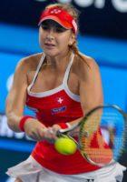 Belinda Bencic of Switzerland