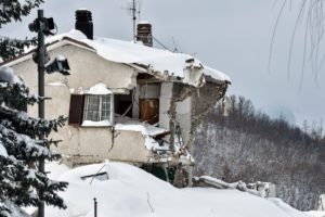 Italy earthquakes avalanche
