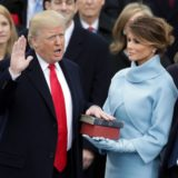 Trump inauguration Melania