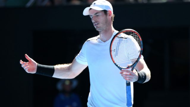 Andy Murray's incessant self-talk was a feature of his fourth round loss, but was it a factor?
