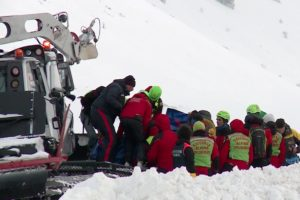 helicopter crash Italian alps