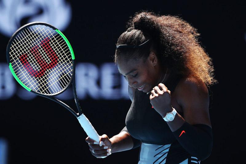 Serena Williams Australian Open quarter final win