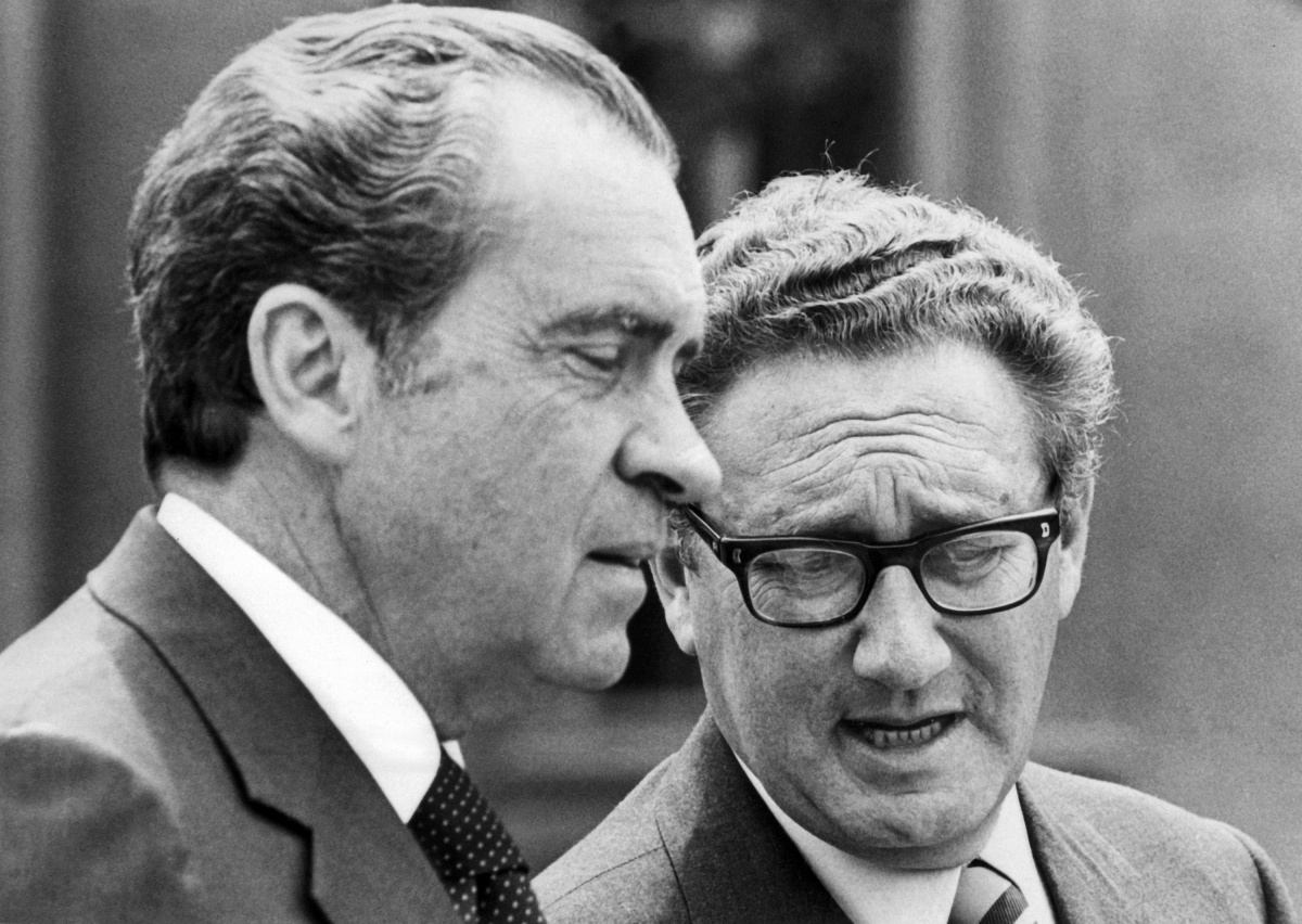 Nixon and Nixon weren't fans of the Whitlam Government. Photo: Getty