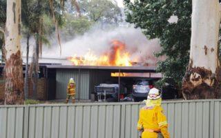 House on fire in Kurri Kurri