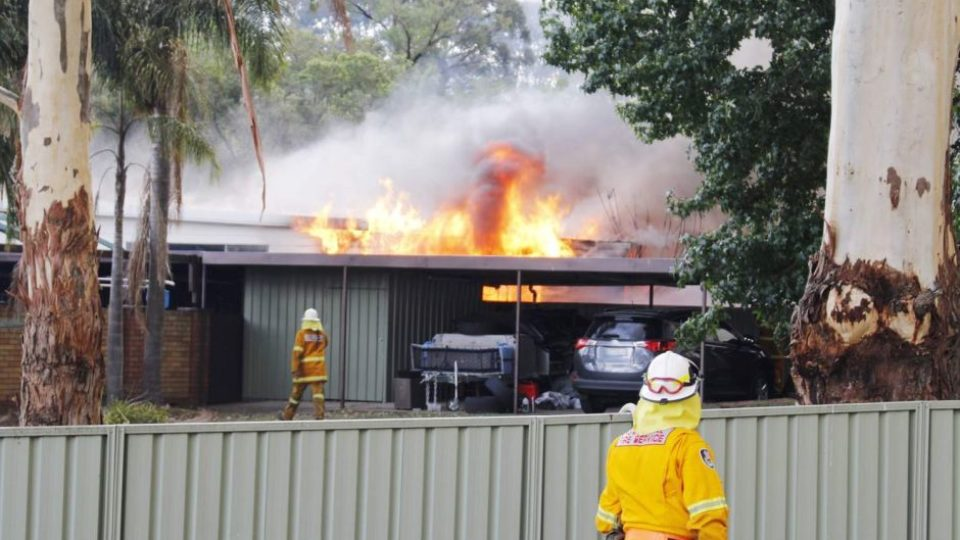 House on fire in Kurri Kurri