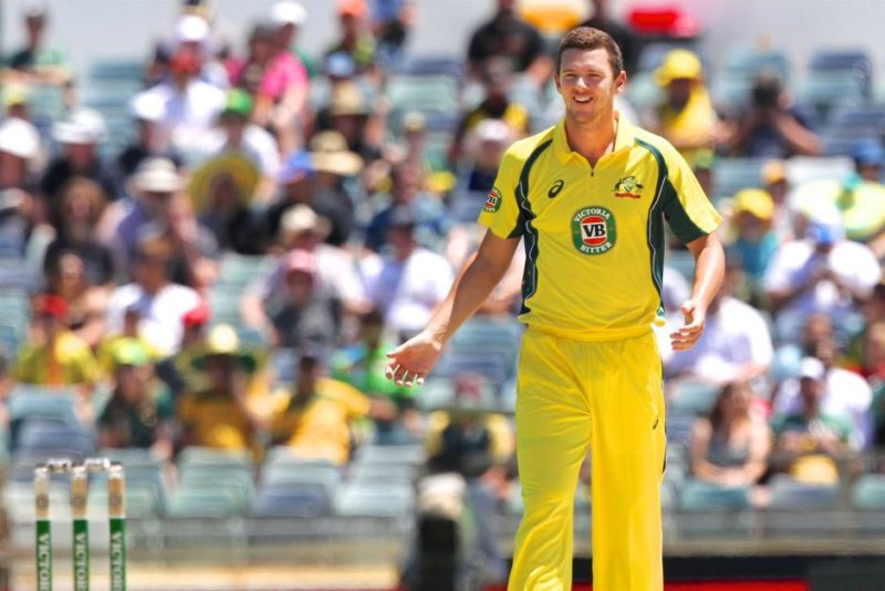 Josh Hazlewood at the WACA