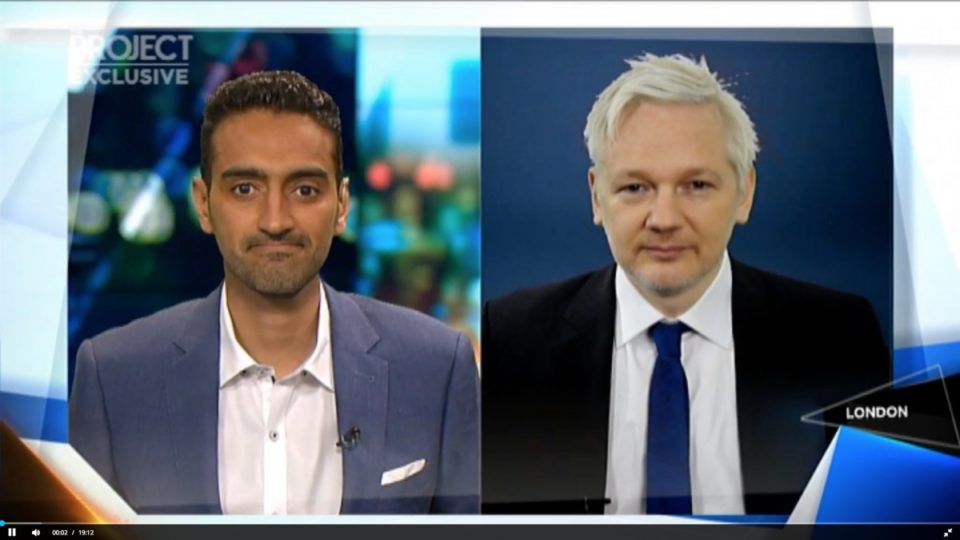 Julian Assange the project