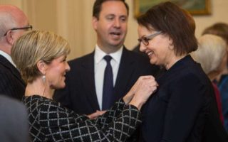 Julie Bishop and Sussan Ley