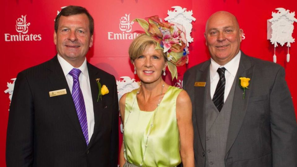 Julie Bishop at 2014 Melbourne Cup