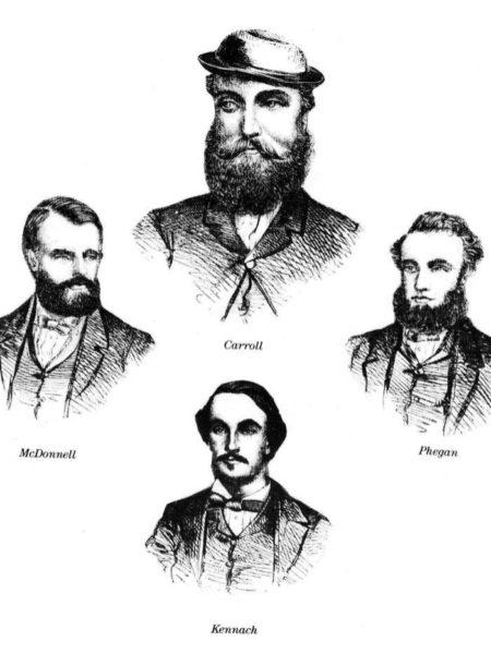Special Constables John Carroll, Patrick Kennagh, Eneas McDonnell and John Phegan were killed.