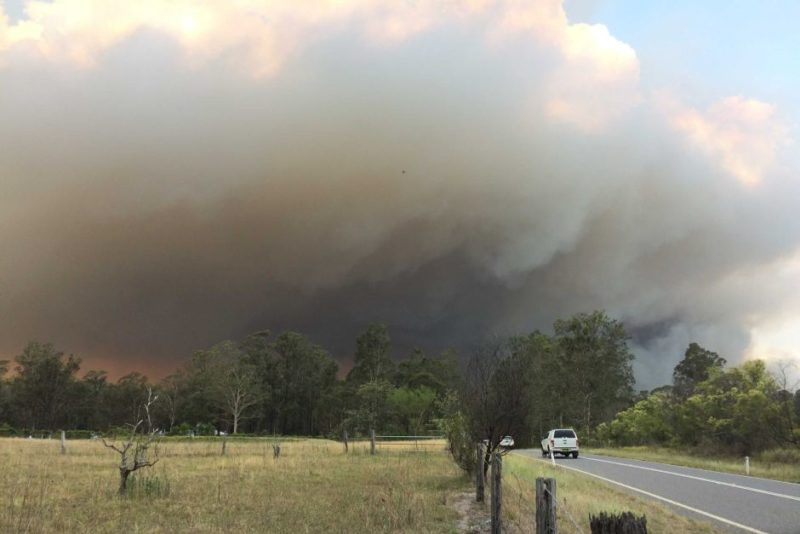 Kurri Kurri Fire in NSW Hunter Valley