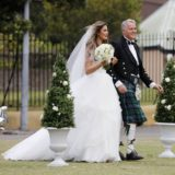 Cheryl, 25, is walked down the aisle by her dad, who doesn't support her marrying a stranger.
