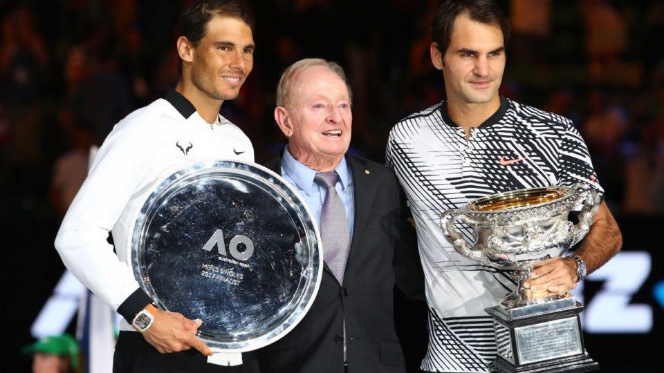 Tennis : actus, joueurs , joueuses, tournois, histoire ... - Page 19 Nadal-Laver-Federer-960x540