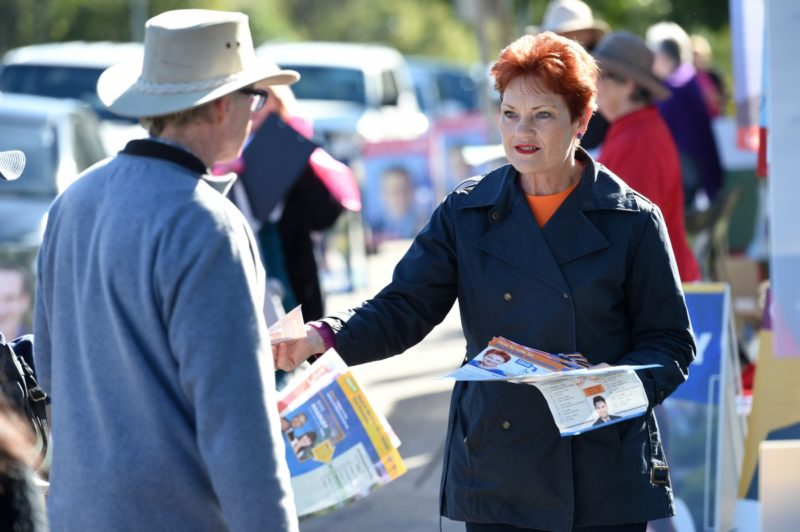 Pauline Hanson's One Nation is expected to register with the electoral commission in NSW. Photo: AAP