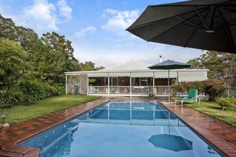 Pool at Gold Coast property