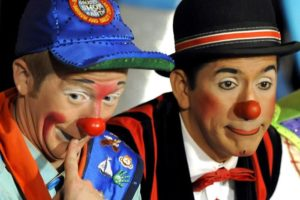 Ringling circus clowns