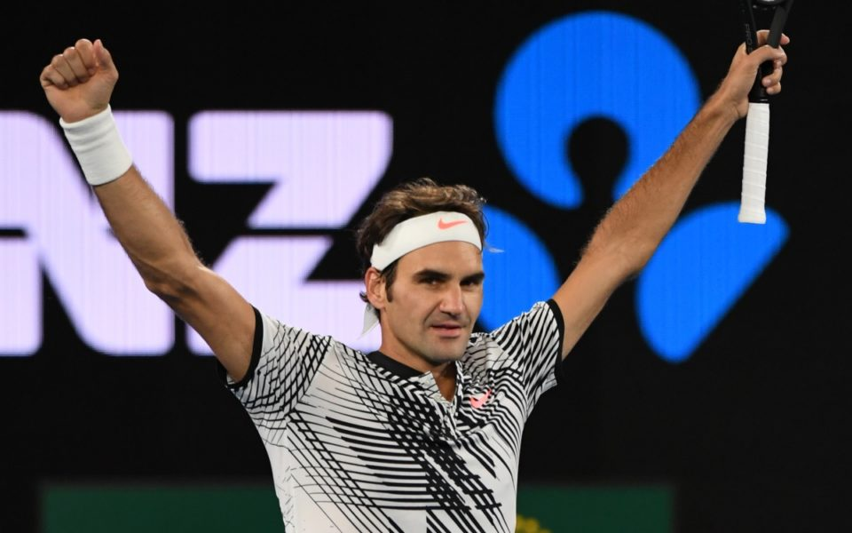 Australian Open 2017: How love was in the air for Federer's win