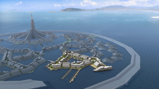 Floating city Seasteading Institute