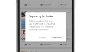 Fake news Facebook