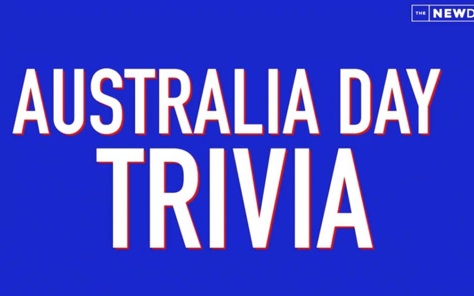 australia day trivia quiz