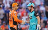 Shaun Marsh and Chris Lynn during T20