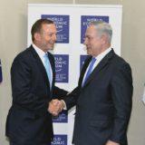Tony Abbott suggest moving embassy to Jerusalem