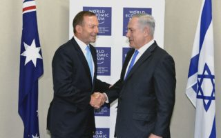 Tony Abbott suggest moving embassy to Jerusalem