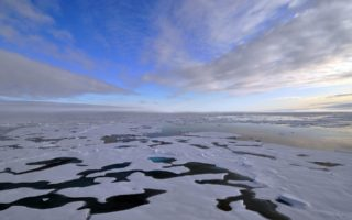 Arctic ice flow