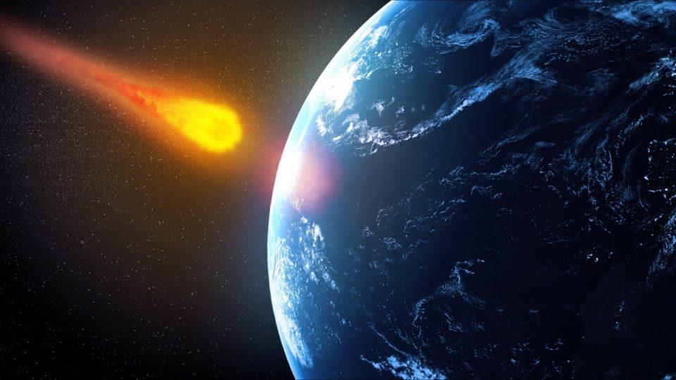 asteroid hitting the sun - photo #14