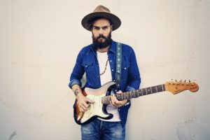 Indigenous musician Benny Walker wil perform at a Survival Day event. Photo: Supplied