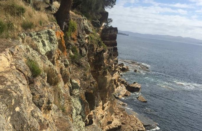 blowhole cliff