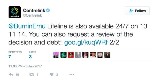 centrelink inquiry push