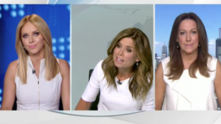 channel nine newsreader argument