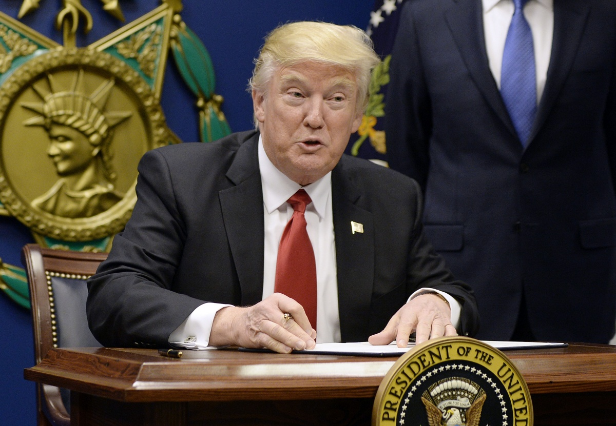 US President Donald Trump has put a hold on refugees entering the United States.