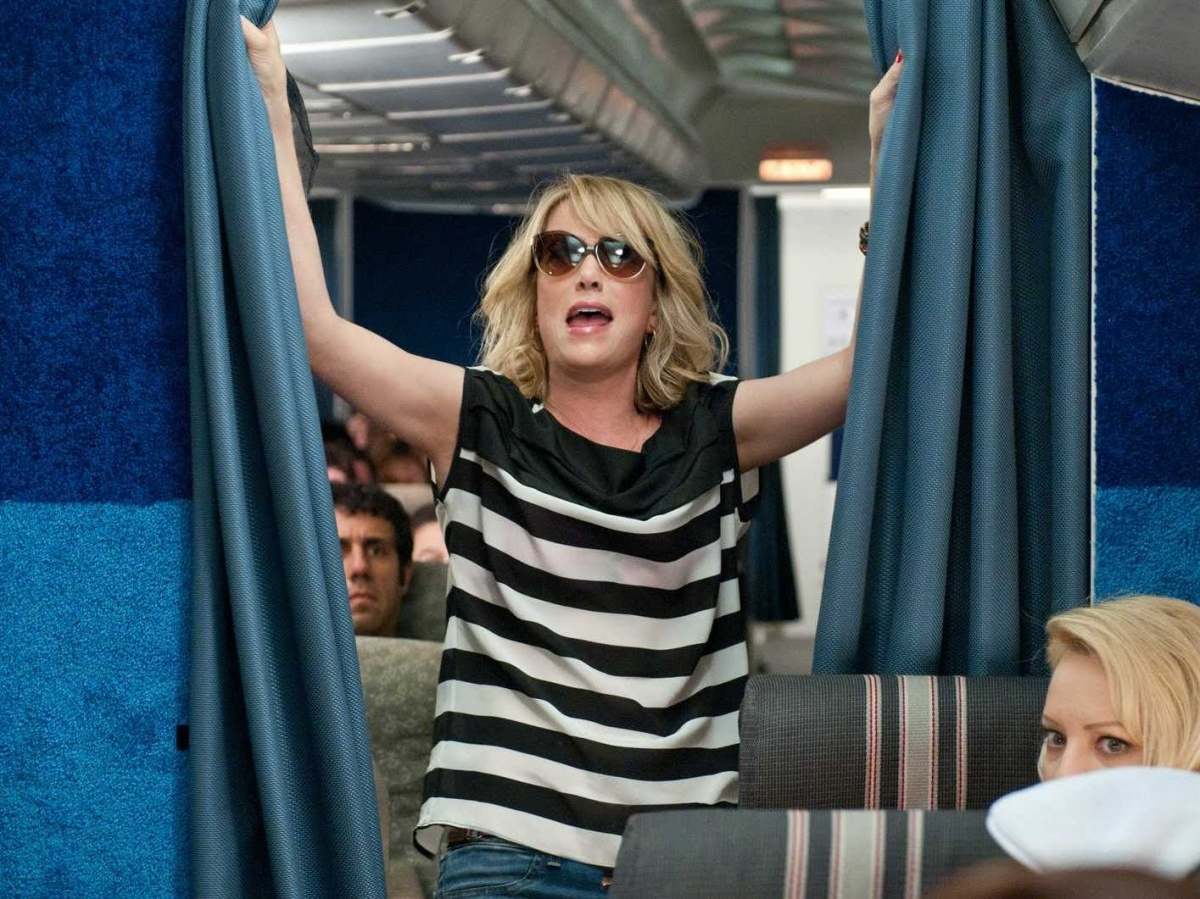 Out-of-control, boozed-up passengers (like Kristen Wiig's character in the movie Bridesmaids) are becoming increasingly common.