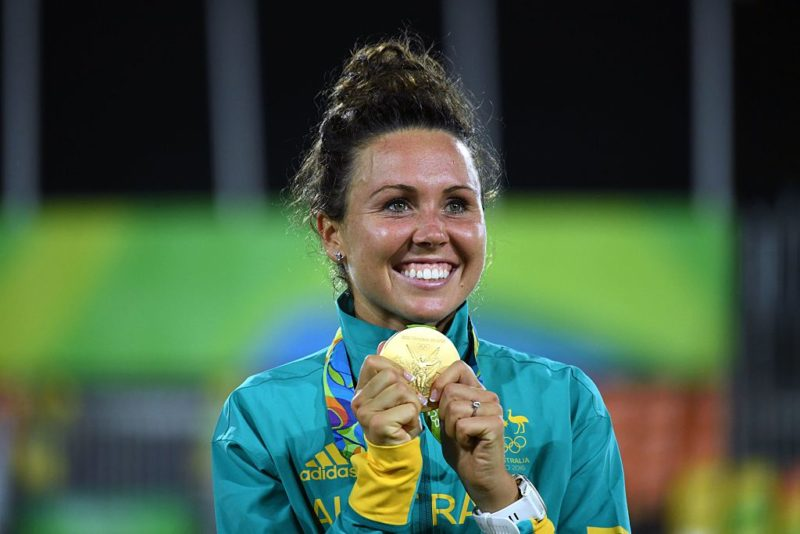 Australian gold medallist Chloe Esposito is said to be without corporate backing. Photo: Getty