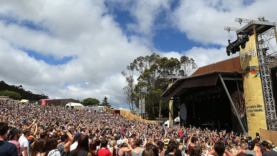 The Falls Festival In Lorne