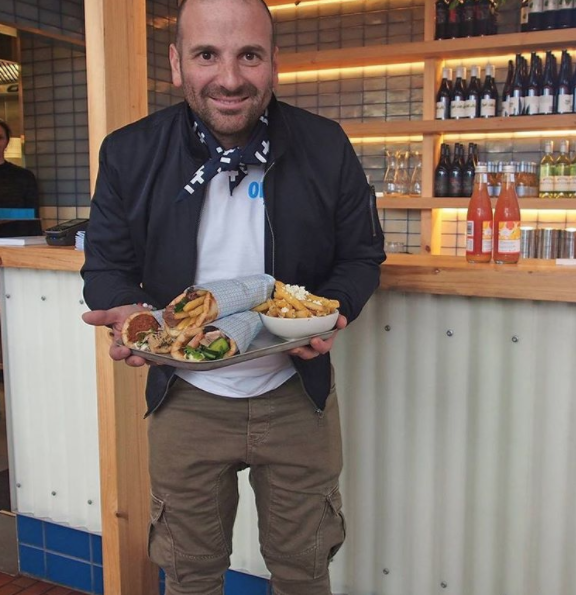 George Calombaris places emphasis on casual, communal dining. Photo: Instagram/georgecalombaris