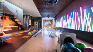 A ten-pin bowling alley in your own house? No problem.