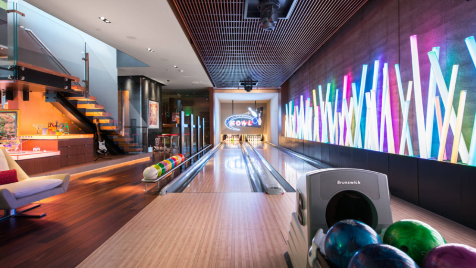Daring design requests bring dream spaces to life for House plans with bowling alley