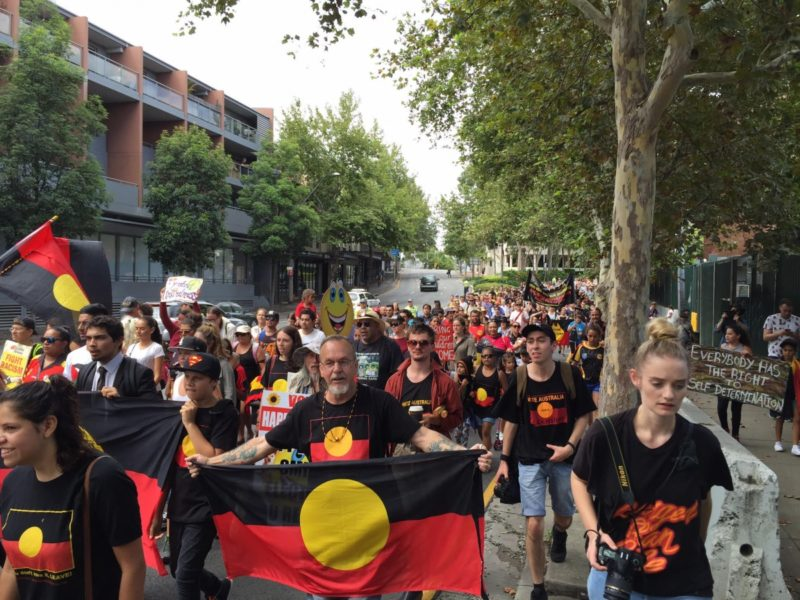 Invasion Day protests will be held throughout Australia today. Photo: AAP