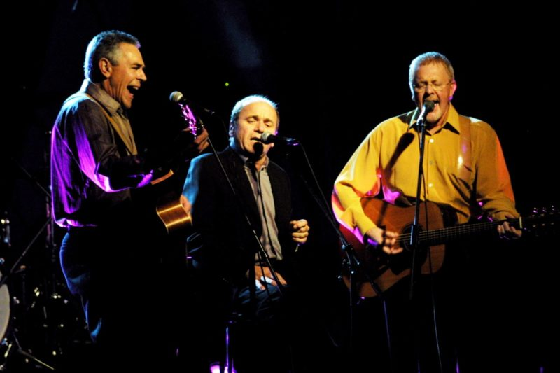 The Little River Band perform at the APRA awards in Sydney in 2002. Photo: AAP
