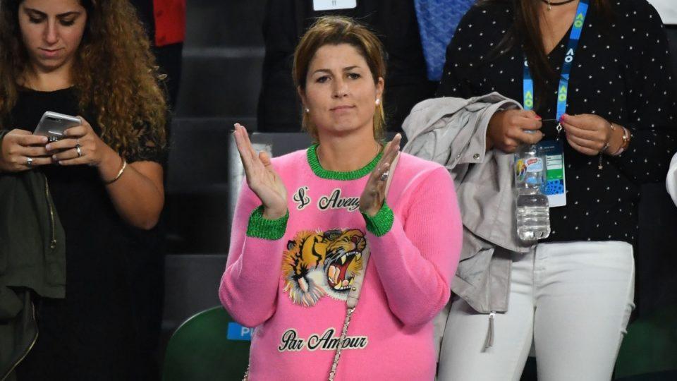mirka federer sweater