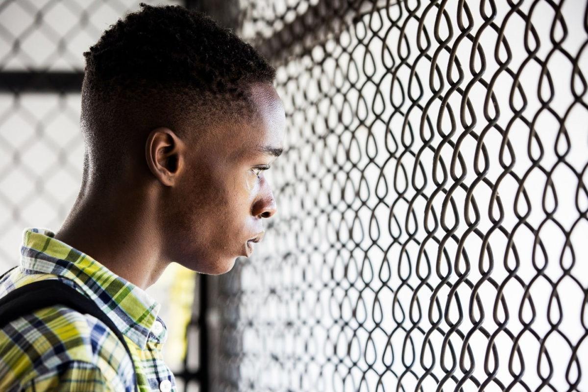 Ashton Sanders plays the teenage version of Chiron.